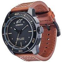 Часы T.WATCH 3H MATT BLK LTR ST.BROWN & EXTRA ST.BLK NY