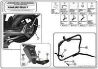 Крепёж бок кофров на ER-6N / ER-6F
